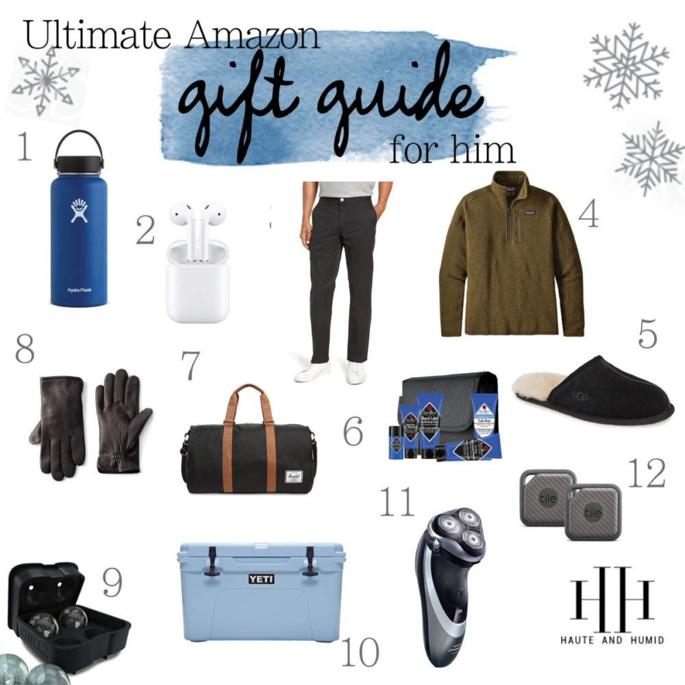 Holiday Gift Guide: 35 Best Gifts for Men featured by top US life and style blog, Haute and Humid.
