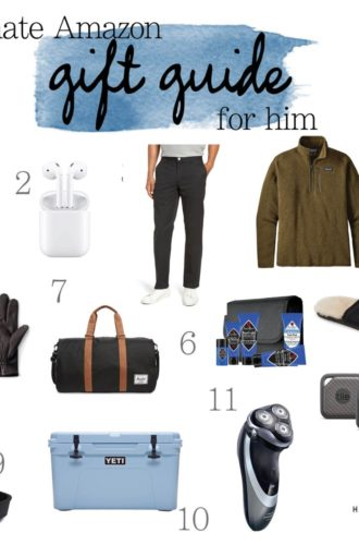 Holiday Gift Guide: 35 Best Gifts for Men