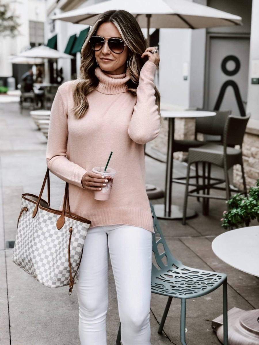 white jeans | Nordstrom Natalya Mule SAM EDELMAN, and Nordstrom x JLO All in 52mm Mini Aviator Sunglasses QUAY AUSTRALIA.