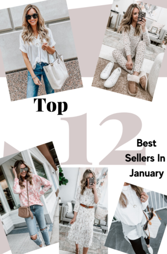 January Top 12 Best Sellers