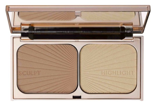 bronzer   Nordstrom Makeup by popular Houston beauty blog, Haute and Humid: image of two in one bronzer highlight combo.