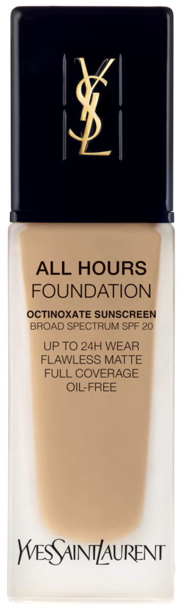 summer foundation   Nordstrom Makeup by popular Houston beauty blog, Haute and Humid: image of YSL all hours foundation.