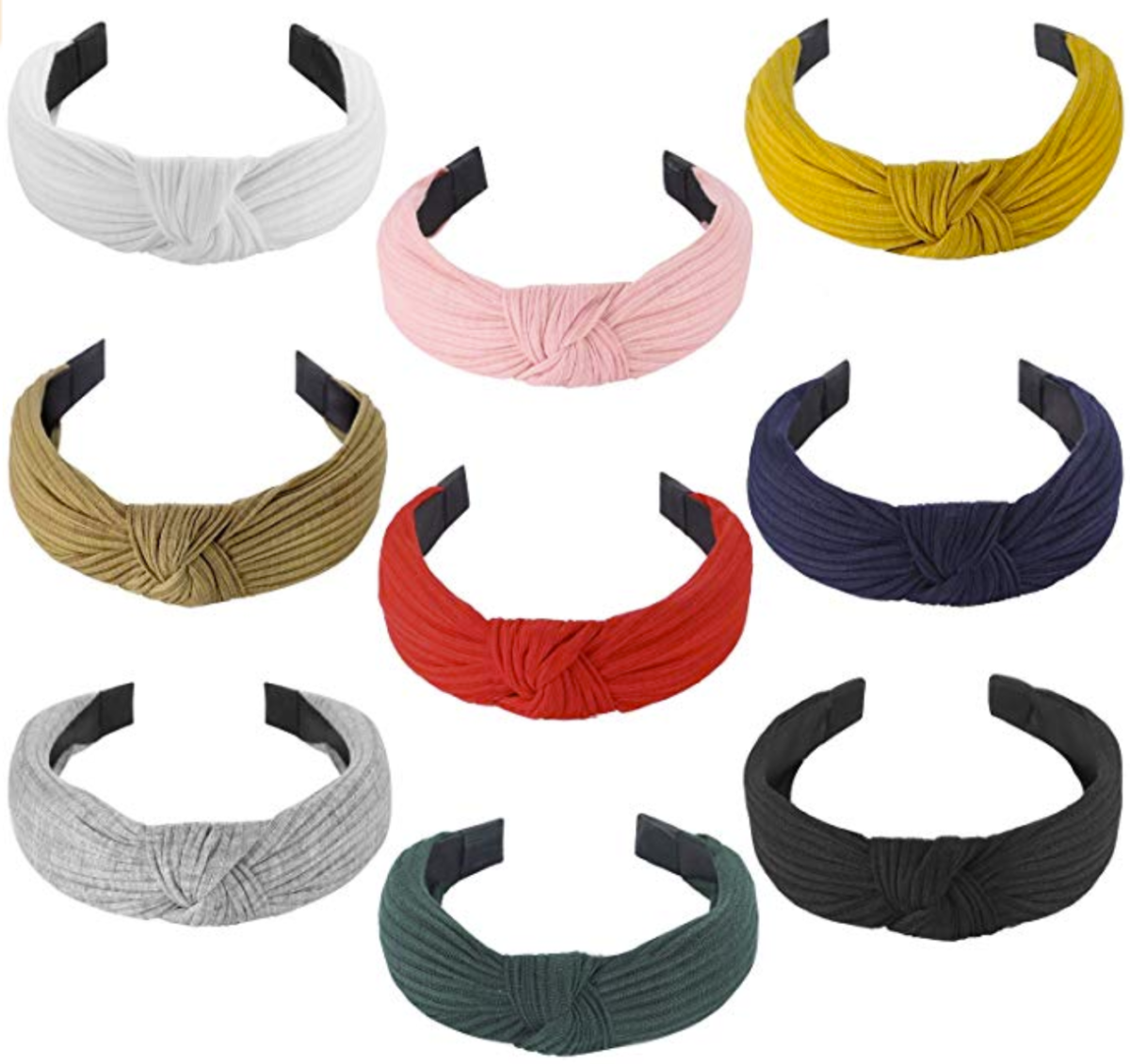 headbands | t | Spring Clothing by popular Houston fashion blog, Haute and Humid: image of various knotted headbands.