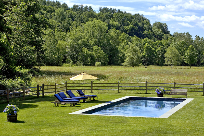 East Chatham – farmstead pool 18′ x 55′ with 3′ wide bluestone coping