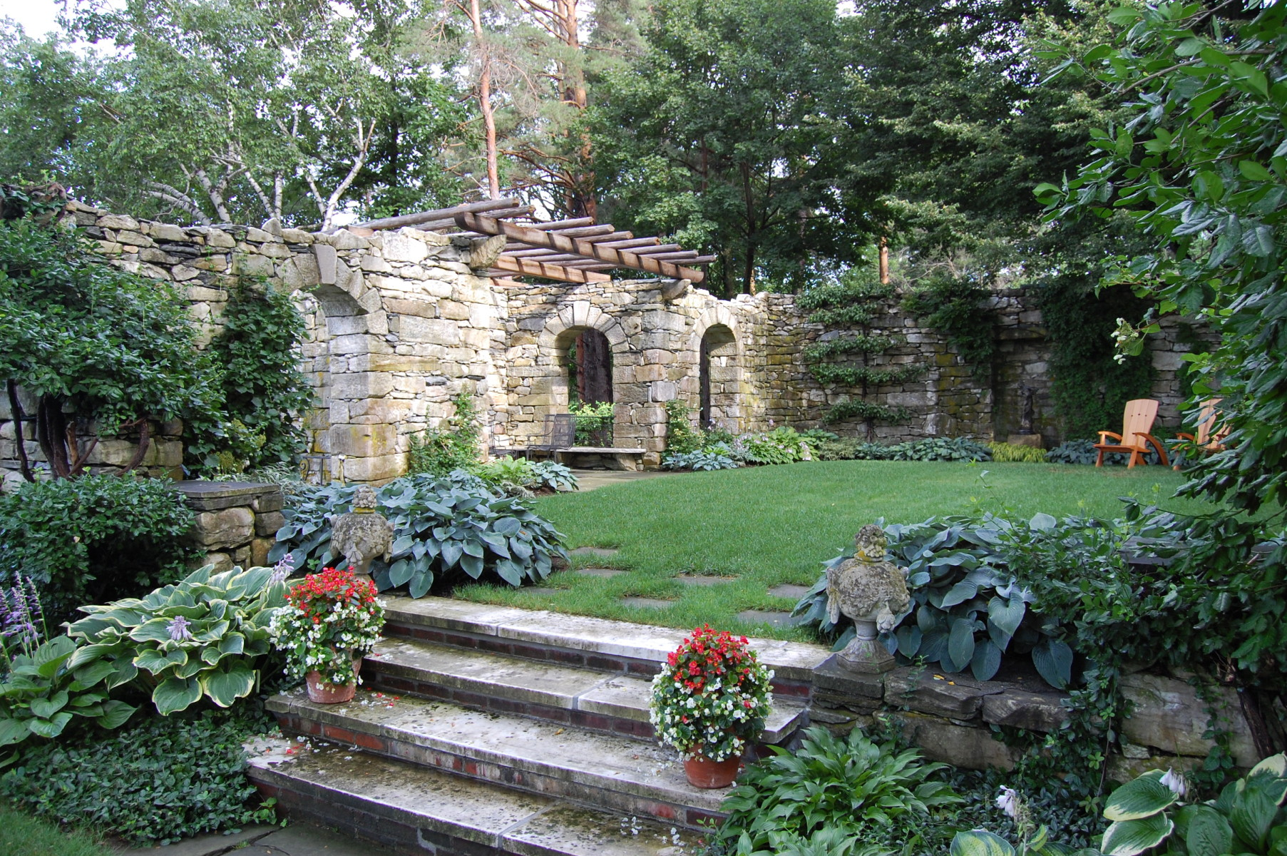 Stockbridge garden restoration