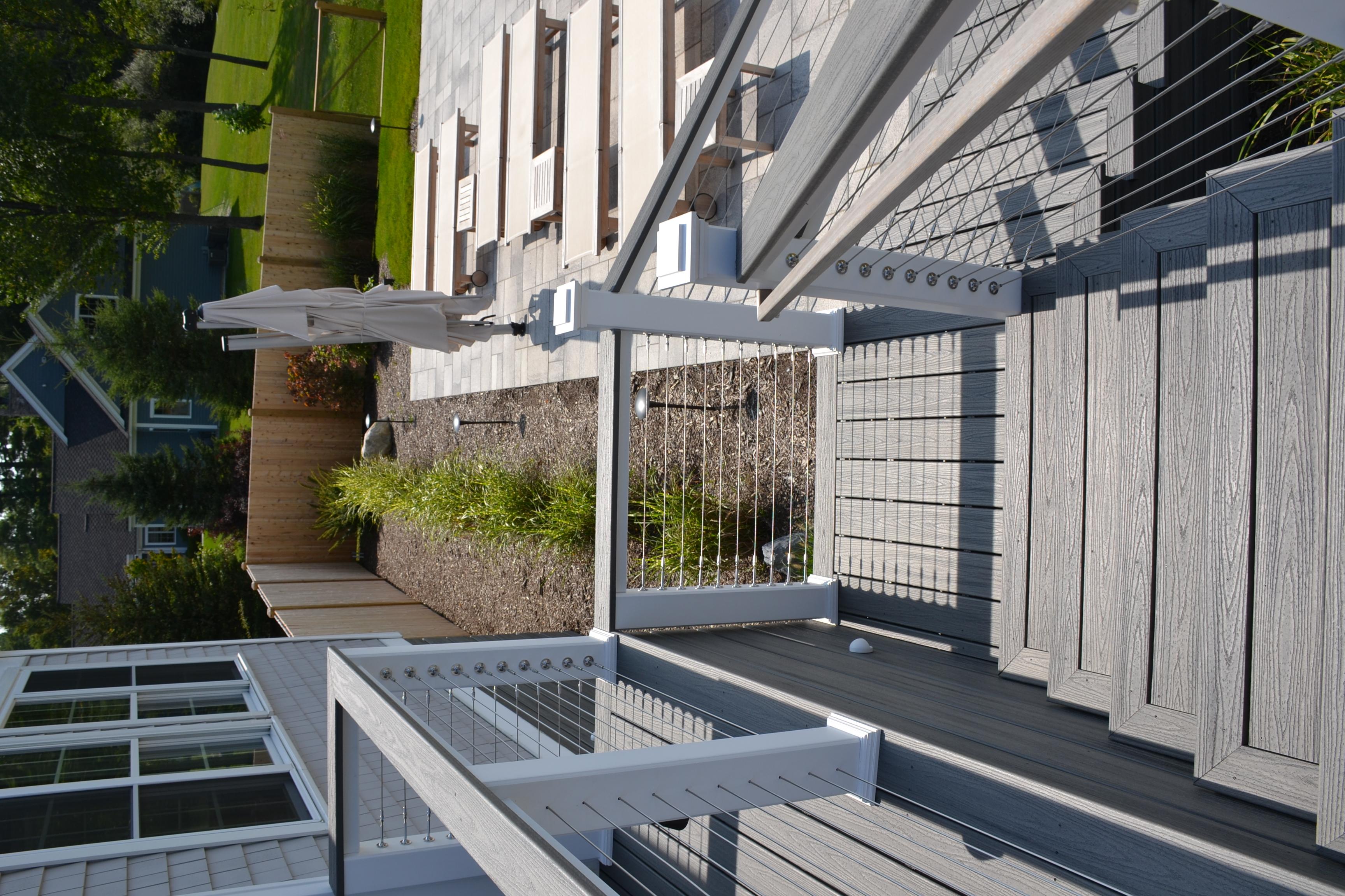Stockbridge deck backyard after 5