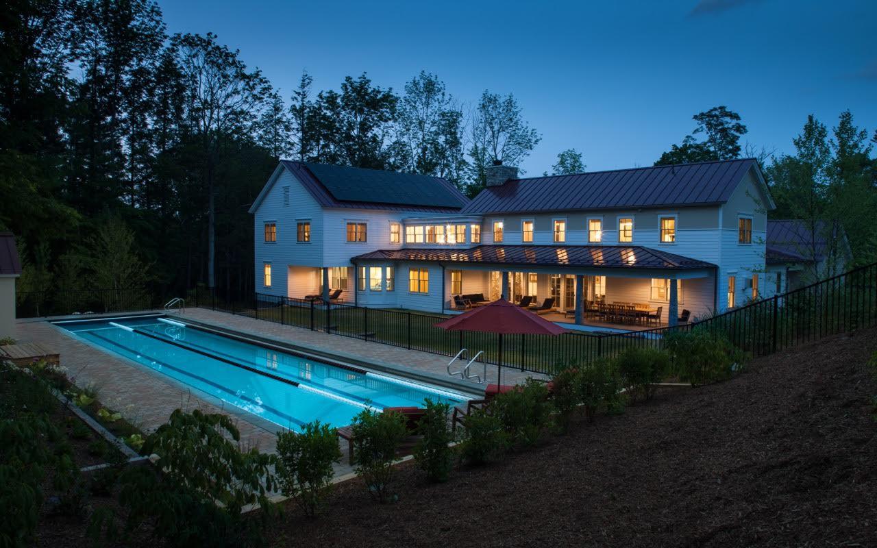 Lenox_pool evening pool enviro