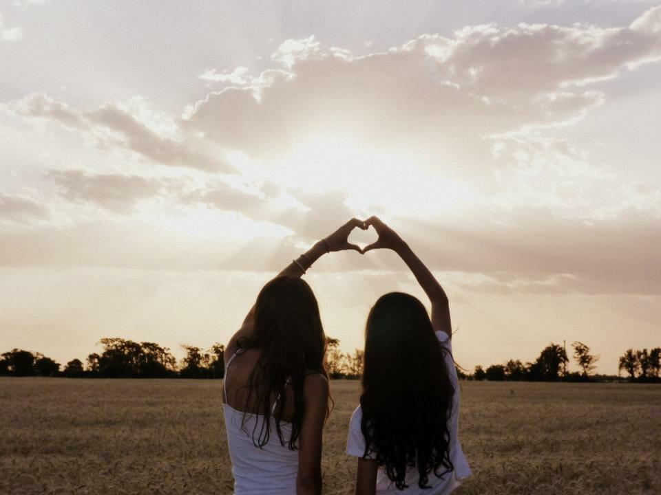 best friends self love beauty