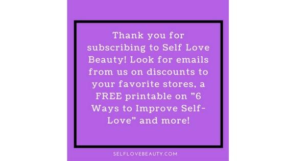 Thank You Self Love BEauty