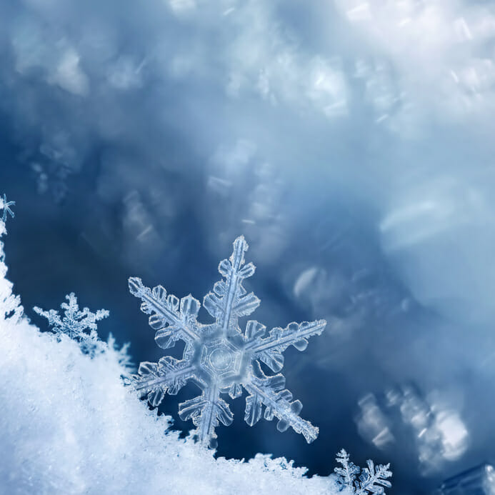 Snowflake self love beauty