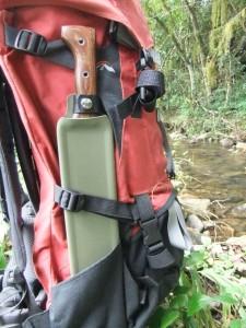Backpack Sheath Tramontina Bolo. North Arm Machete Co.