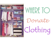 Where to Donate Clothing