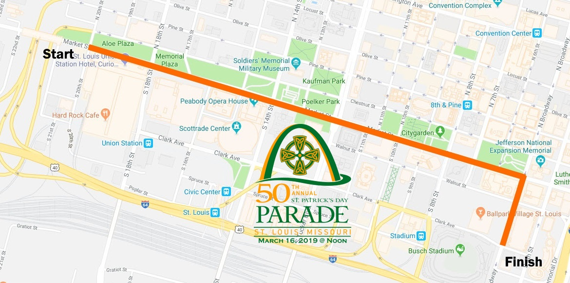 Parade Route - St. Patrick\'s Day Parade