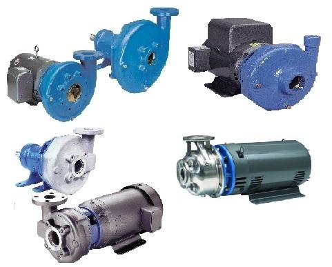 Goulds End Suction Centrifugal Pumps
