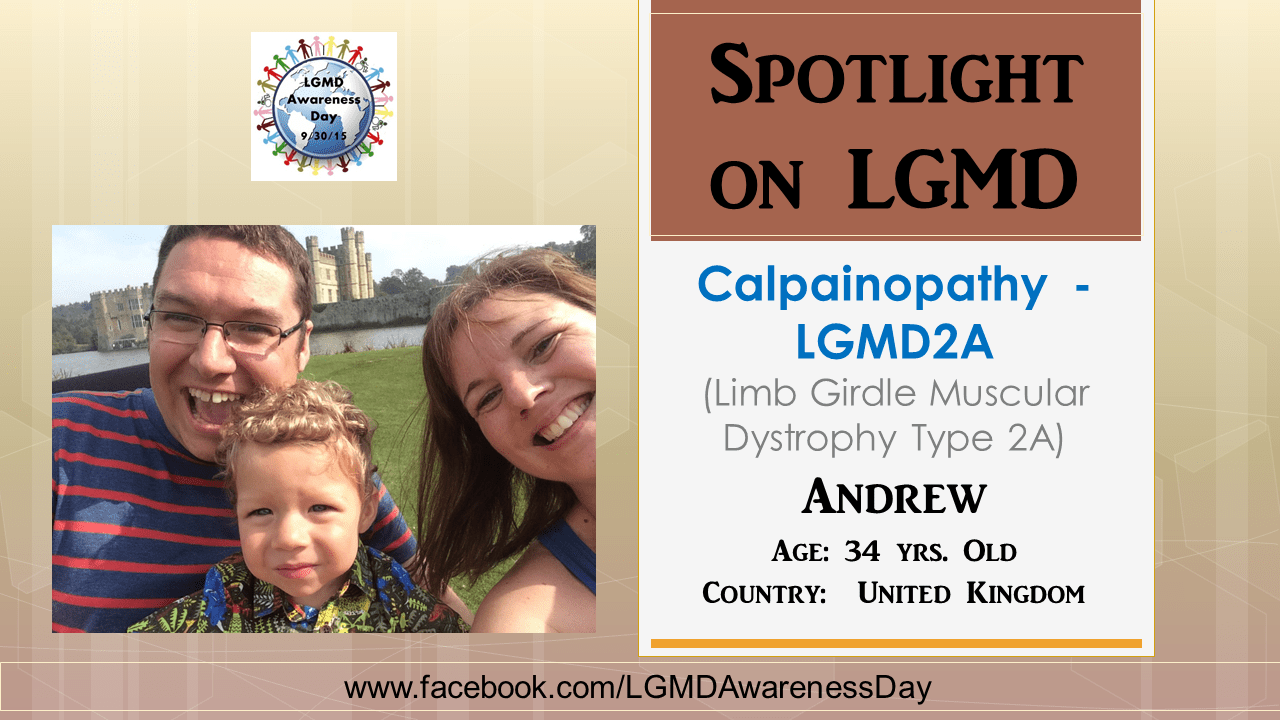 INDIVIDUAL WITH LGMD:  Andrew