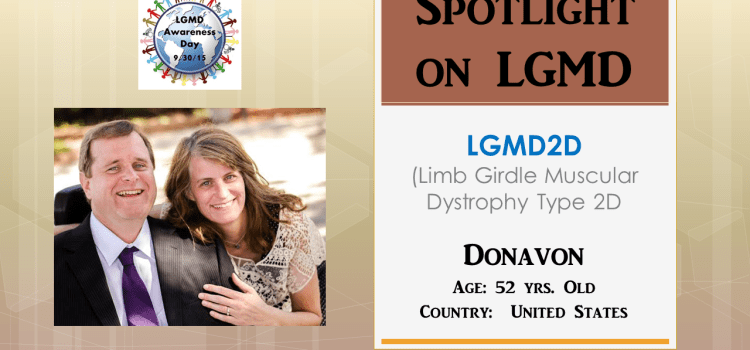 INDIVIDUAL WITH LGMD:  Donavon