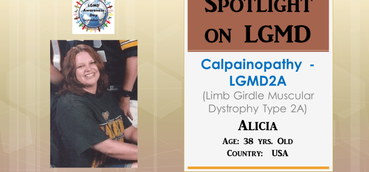 INDIVIDUAL WITH LGMD:  Alicia