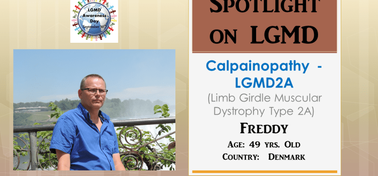 INDIVIDUAL WITH LGMD:  Freddy