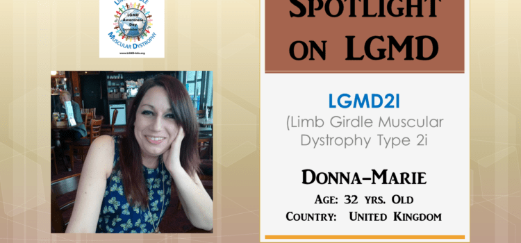 INDIVIDUAL WITH LGMD:  Donna-Marie