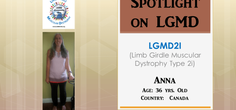 INDIVIDUAL WITH LGMD:  Anna