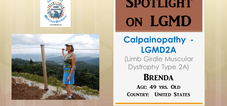 INDIVIDUAL WITH LGMD:  Brenda