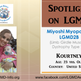 INDIVIDUAL WITH LGMD:  Kourtney