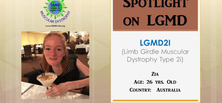 INDIVIDUAL WITH LGMD:  Zia