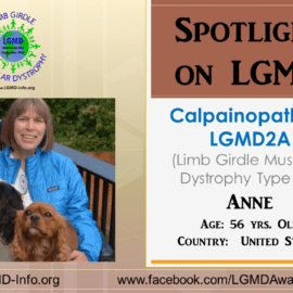 INDIVIDUAL WITH LGMD:  Anne