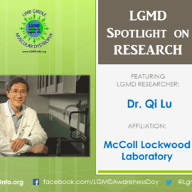 LGMD RESEARCHER:  Qi Lu