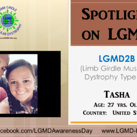 INDIVIDUAL WITH LGMD:  Tasha
