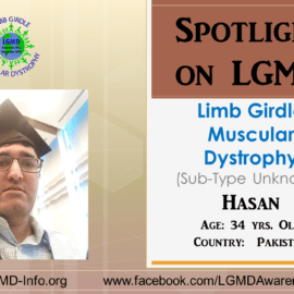 INDIVIDUAL WITH LGMD:  Hasan