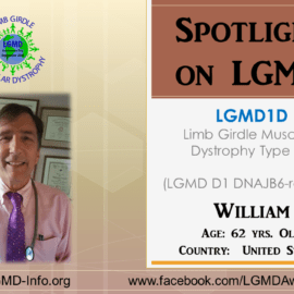 Individual with LGMD:  William