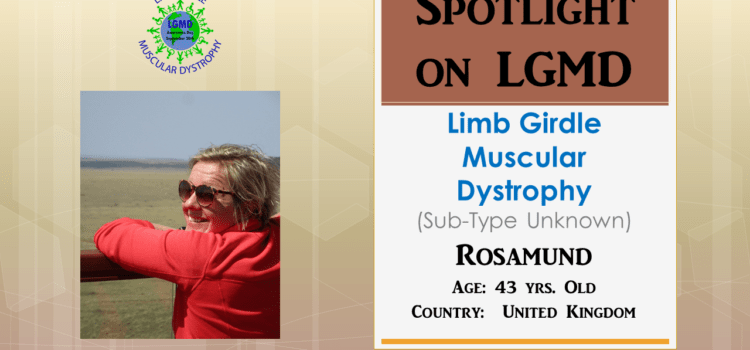 INDIVIDUAL WITH LGMD: Rosamund