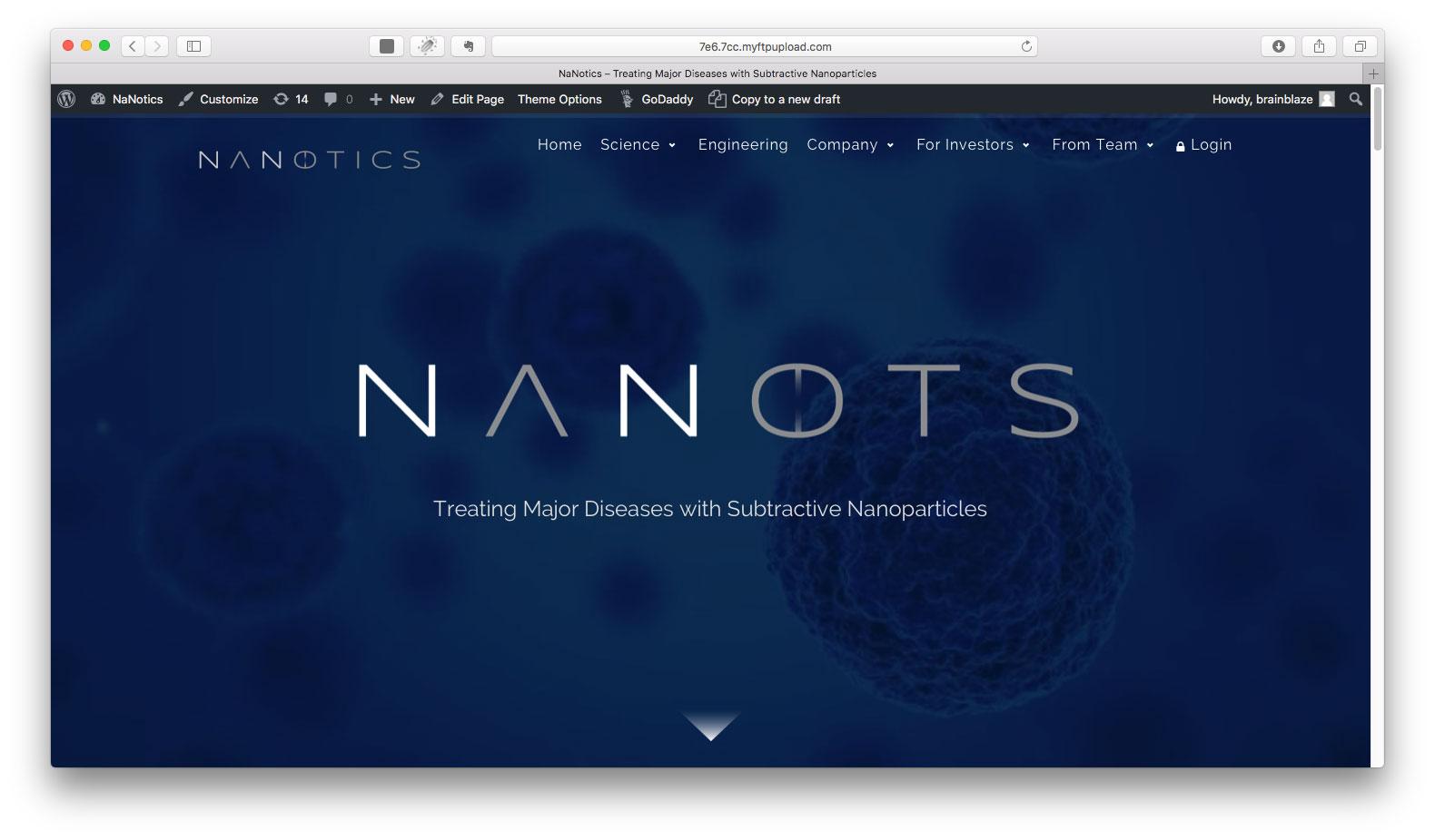 Nanotics : A solution within : Medical Technology Marketing
