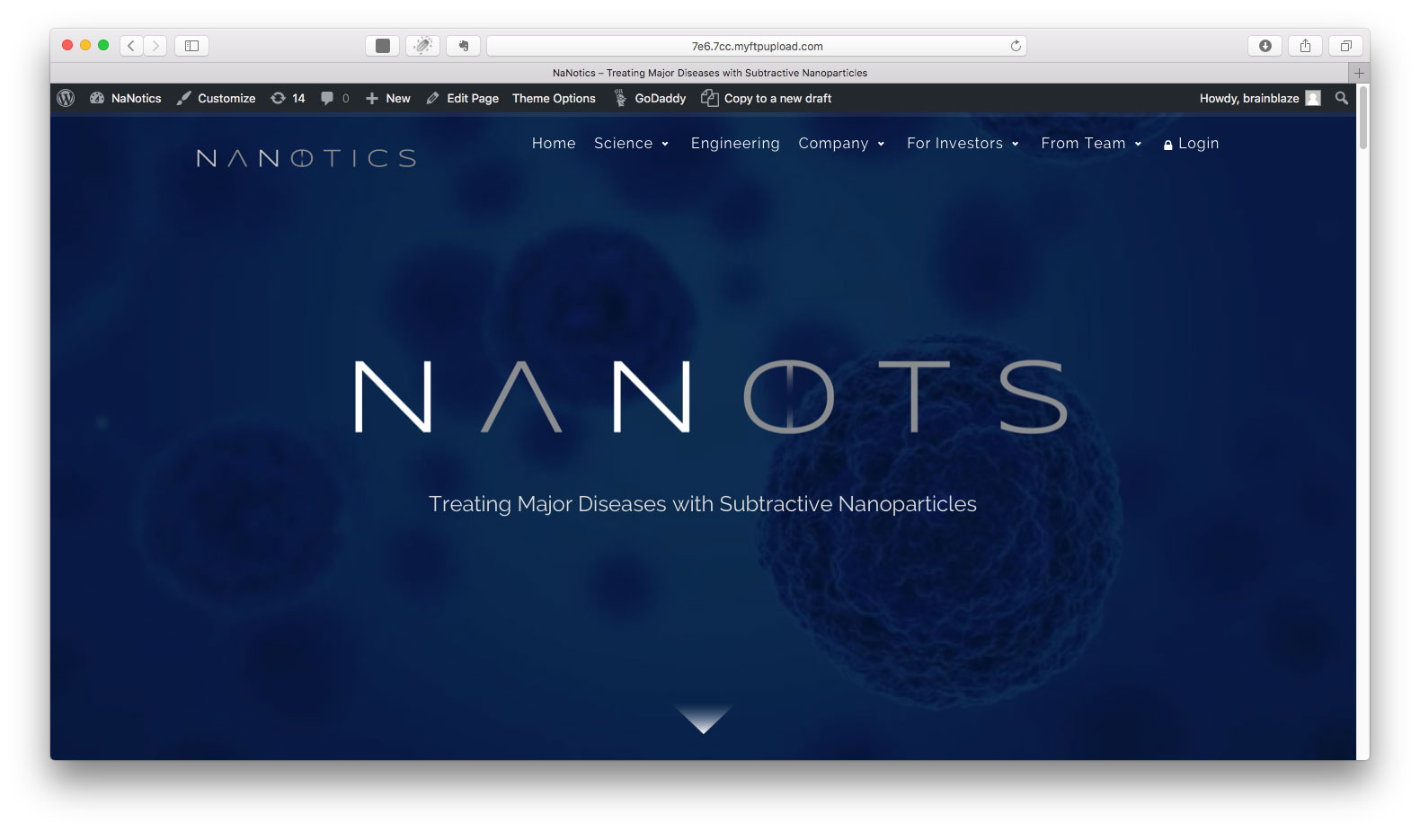 Nanotics : A solution within : Medical Technology Marketing
