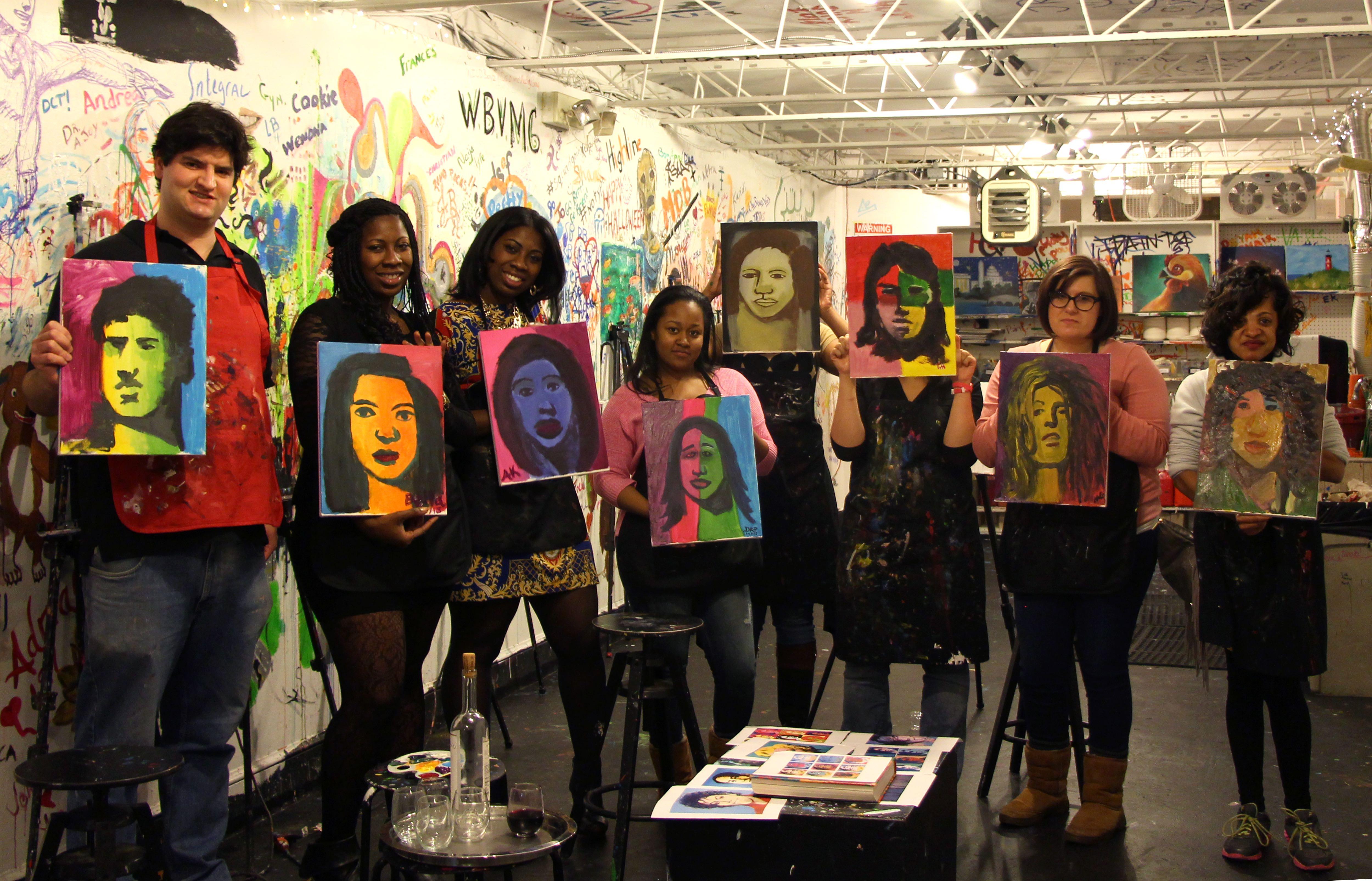 Artist Opportunities - ArtJamz Warhol Class