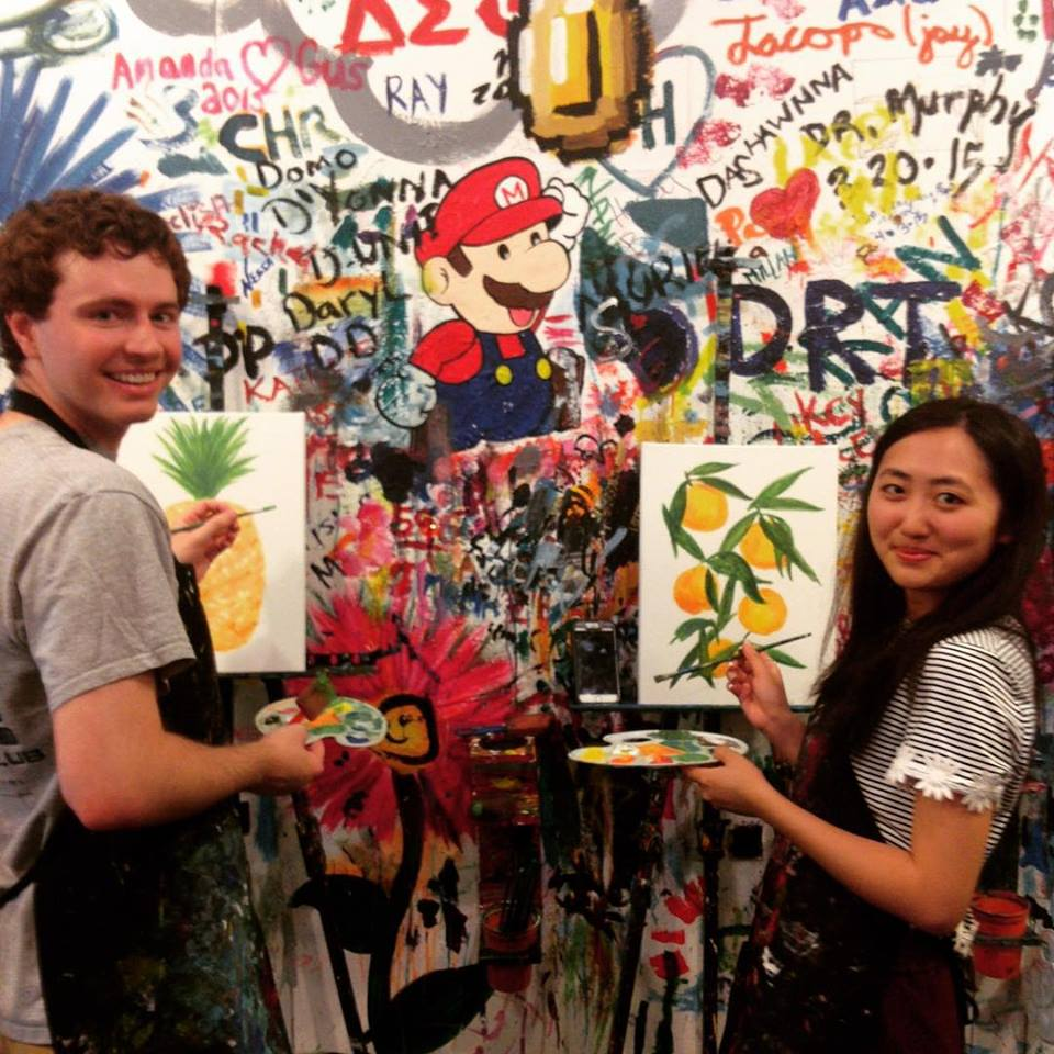 Paint and Sip Date Night at ArtJamz