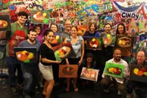 Team Building Art Party