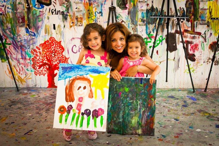 Kids Paint Activities at ArtJamz