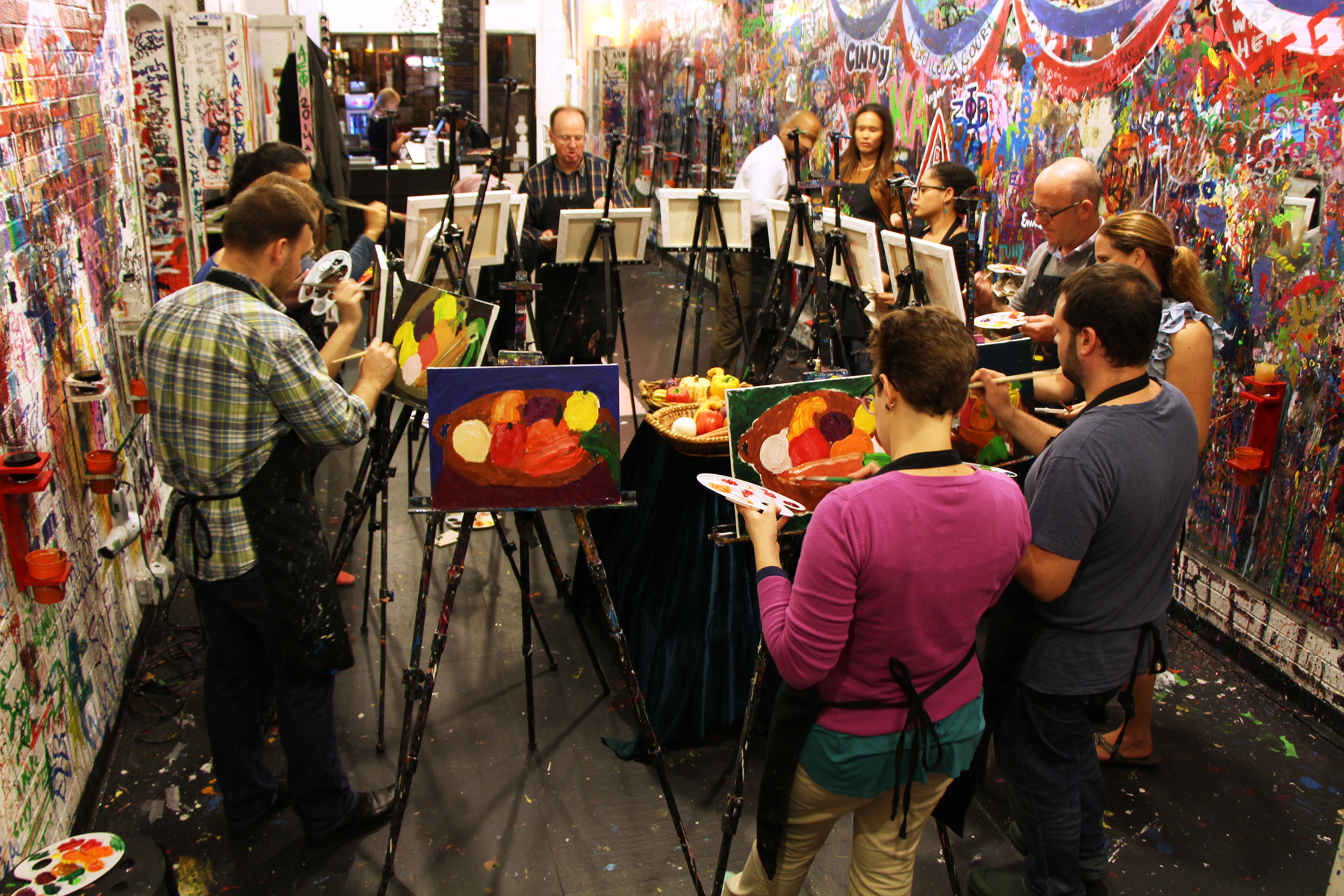 ArtJamz academy with unique guided art classes
