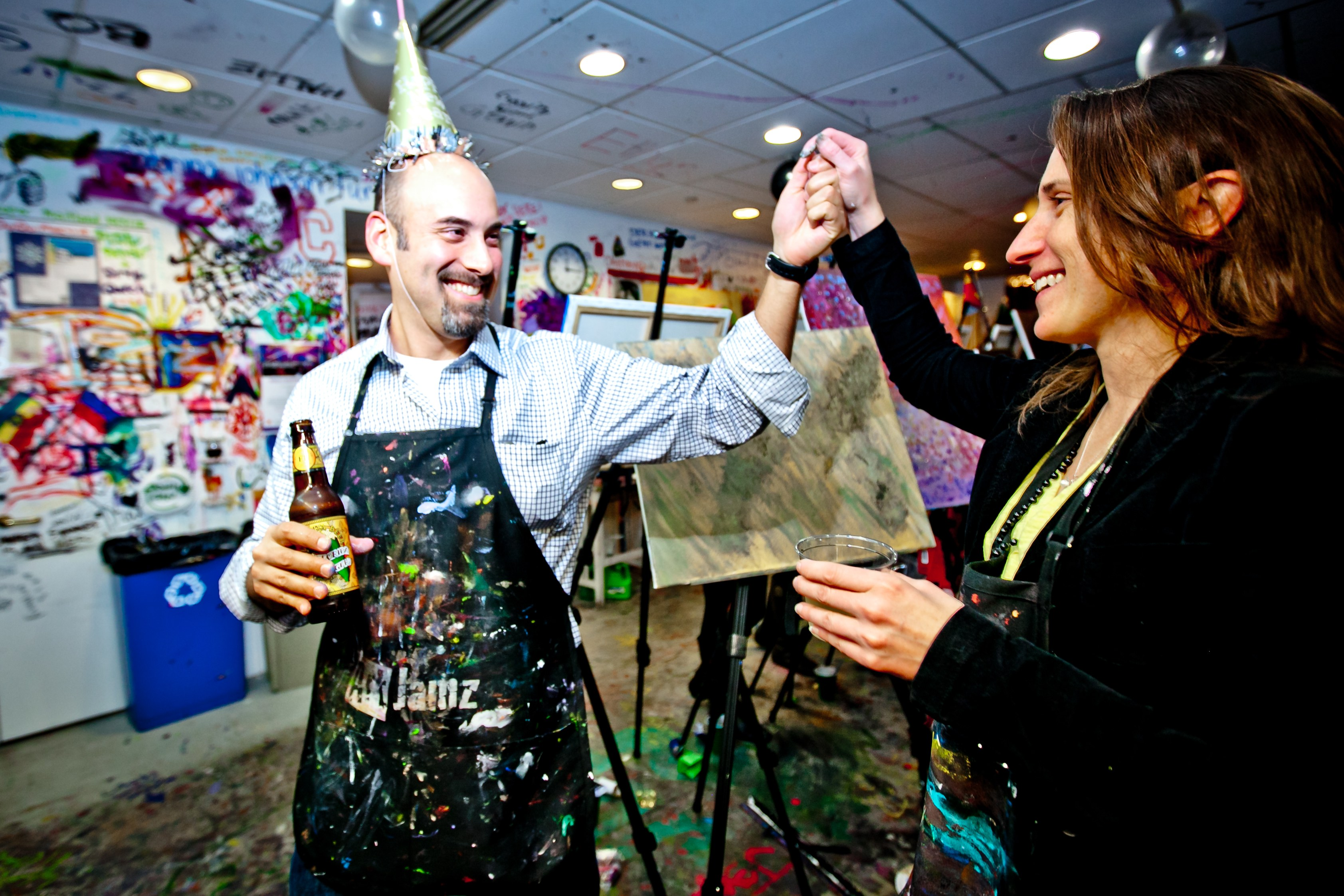 Upcoming Guided Art Classes and Special Events at ArtJamz