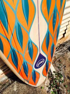 Custom Balsa Wood Longboard Squash Tail