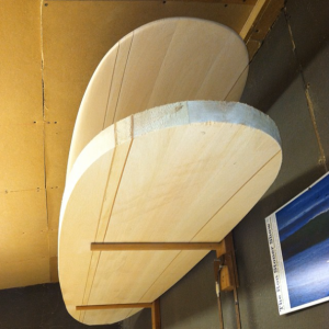 Rough Shaped Balsawood Surfboards