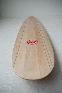 Yana Surf Balsa Wood Longboard