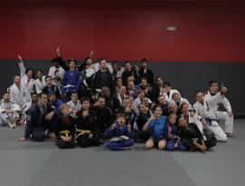 Ground Control BJJ Group in Gis