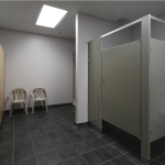 Ground Control Gym Lockerroom Showers