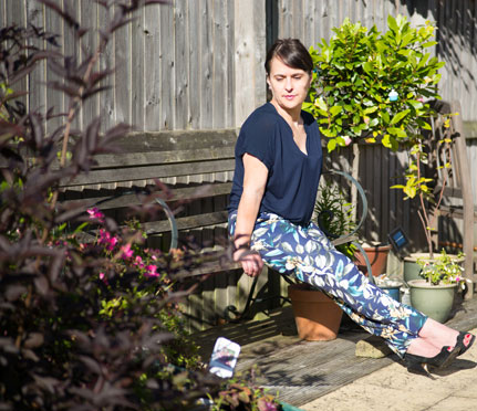Floral Scuba Trousers, Petite, Petite fashion Blogger,Petite trousers, petite clothes