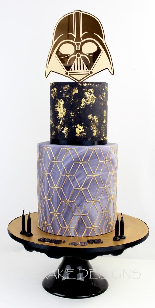 Cake Stencil - Emerald