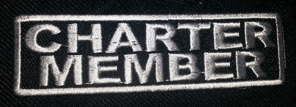 """""""Charter Member"""" patch"""