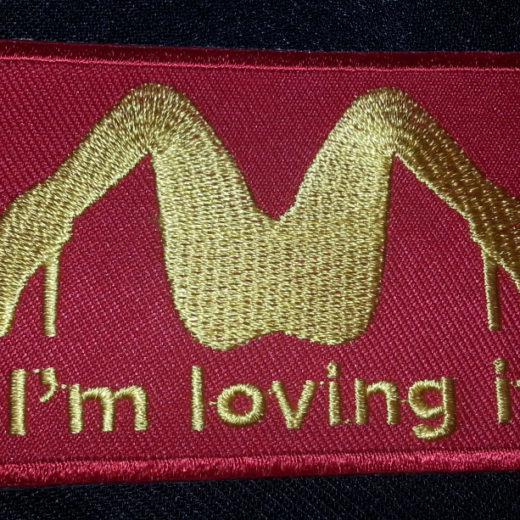 """I'm Loving It"" patch"